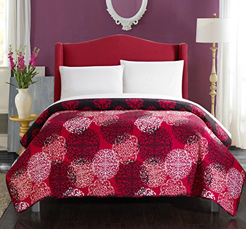 Chic Home 1 Piece Judith Boho Inspired Reversible Print Quil