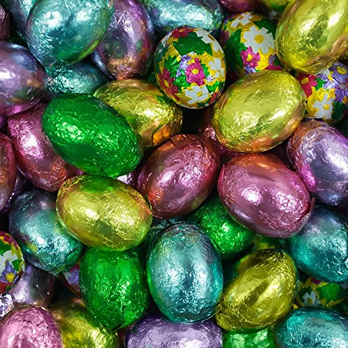 Madelaine Milk Chocolate Easter Eggs - 5lb Bag, Approximately 300 Pieces - Bu...