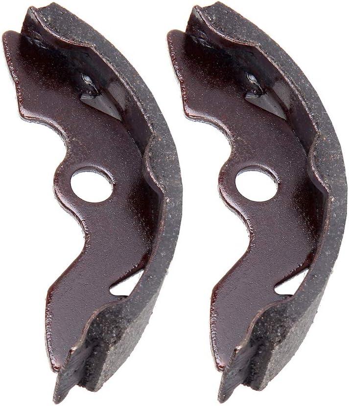 INEEDUP EBC345 Front Brake Shoes Fit for 1997-2009 2011-2013 Honda Recon 250 1988-2000 Honda FourTrax 300
