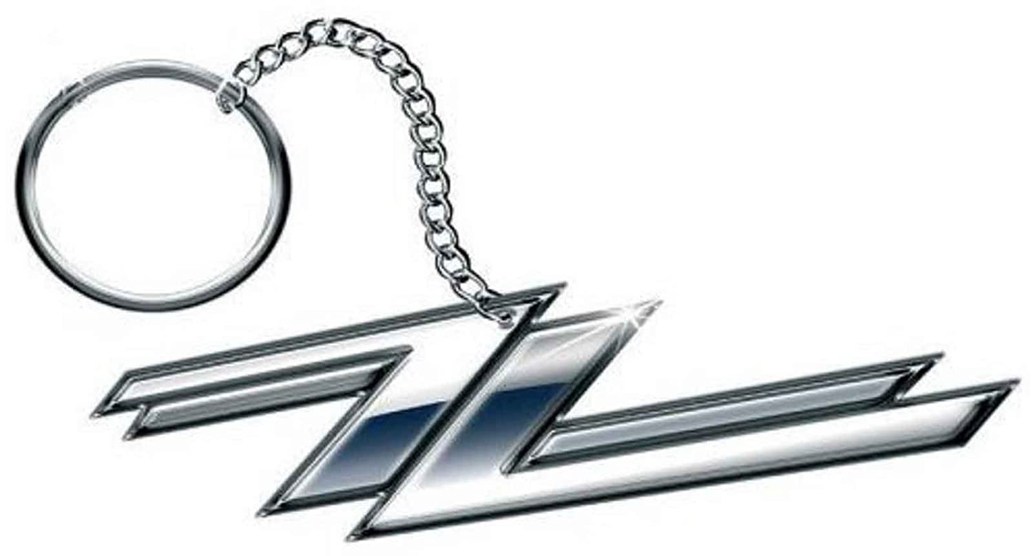 ZZ Top Keyring Keychain Twin Z's band logo new Official metal