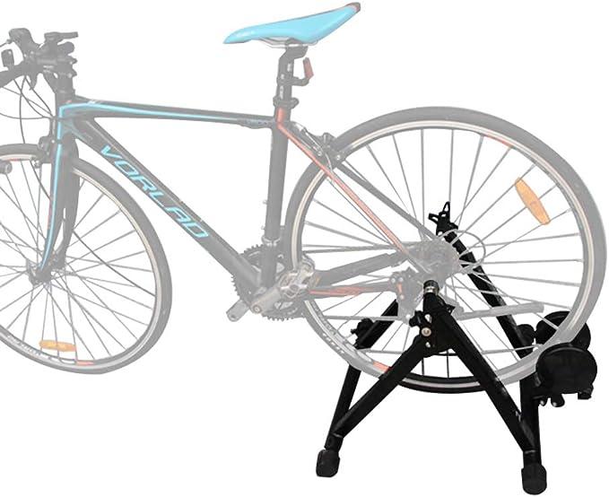 Joyfitness Rodillo de Ciclismo Indoor Bike Trainer Stand Magnet Magnetic Resistance Bike Cycling Roller,Black: Amazon.es: Deportes y aire libre
