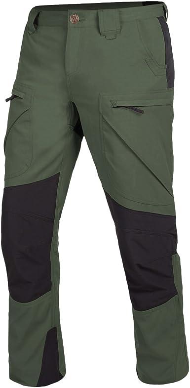 Pentagon Vorras Hombres Escalada Pantalones Camo Green tamaño ...