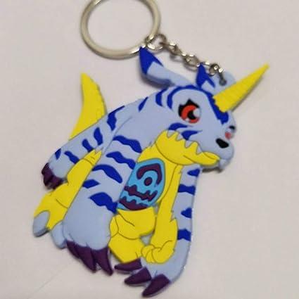 Baoxidz Dependable Anime Digimon Silicona Llavero Wargreymon ...