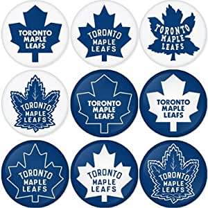 Toronto Maple Leafs Nhl Round Badge 1 75 Quot Badge Magnet