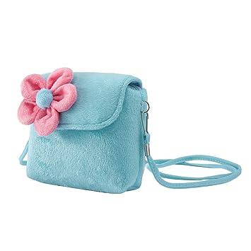 9d35e493de41 HKFV Children Girls Coin Purses Shoulder Crossbody Messenger Bags Kids  Handbag for Toddlers Girls Princess Flowers