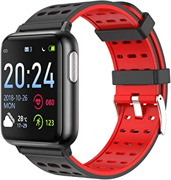 Amazon.com: XMYL Fitness Tracker, ECG + PPG Reloj ...