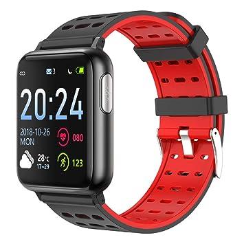 Amazon.com: XMYL Fitness Tracker, ECG + PPG Reloj ...