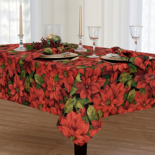 Celebration Fabric Tablecloth, 70 Inch Round ()