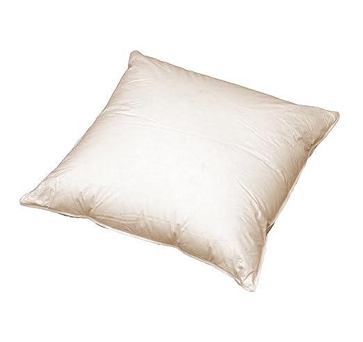 Sofa Federkissen Ca 50x50 Cm Echte Federn Robust Und Formstabil Farbe Creme