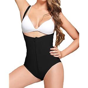 SEXYWG Femme Minceur Body Shapewear Ventre Plat Combinaisons Body b94dc011d70