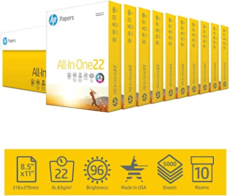 Amazon.com: Papel para impresora HP, Blanco: Home Improvement