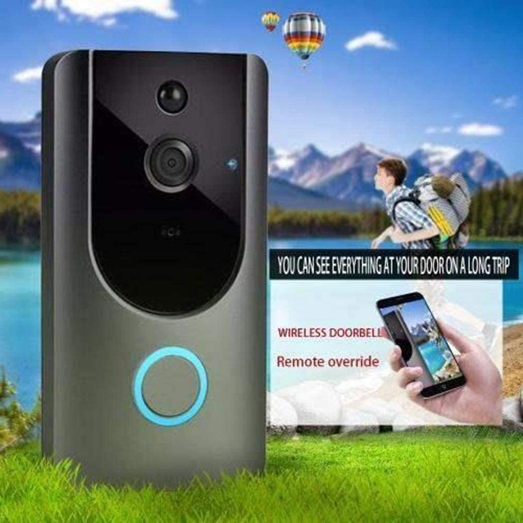 Weepo M2 HD Wireless Visual Smart Doorbell Alarm WiFi Mobile Phone Remote Monitoring Kits