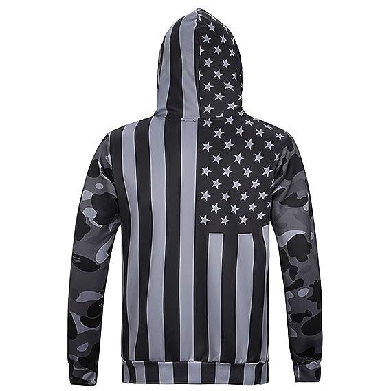 LYJLYJ Bandera Negra Impresión 3D Hoodie Hombres Y Mujeres Sudadera con Capucha Chaqueta Sportswear Parejas De Enamorados Pullover: Amazon.es: Deportes y ...