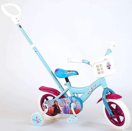Bicicleta Niña 10 Pulgadas Disney Frozen 2 Ruedas Extraíbles y ...