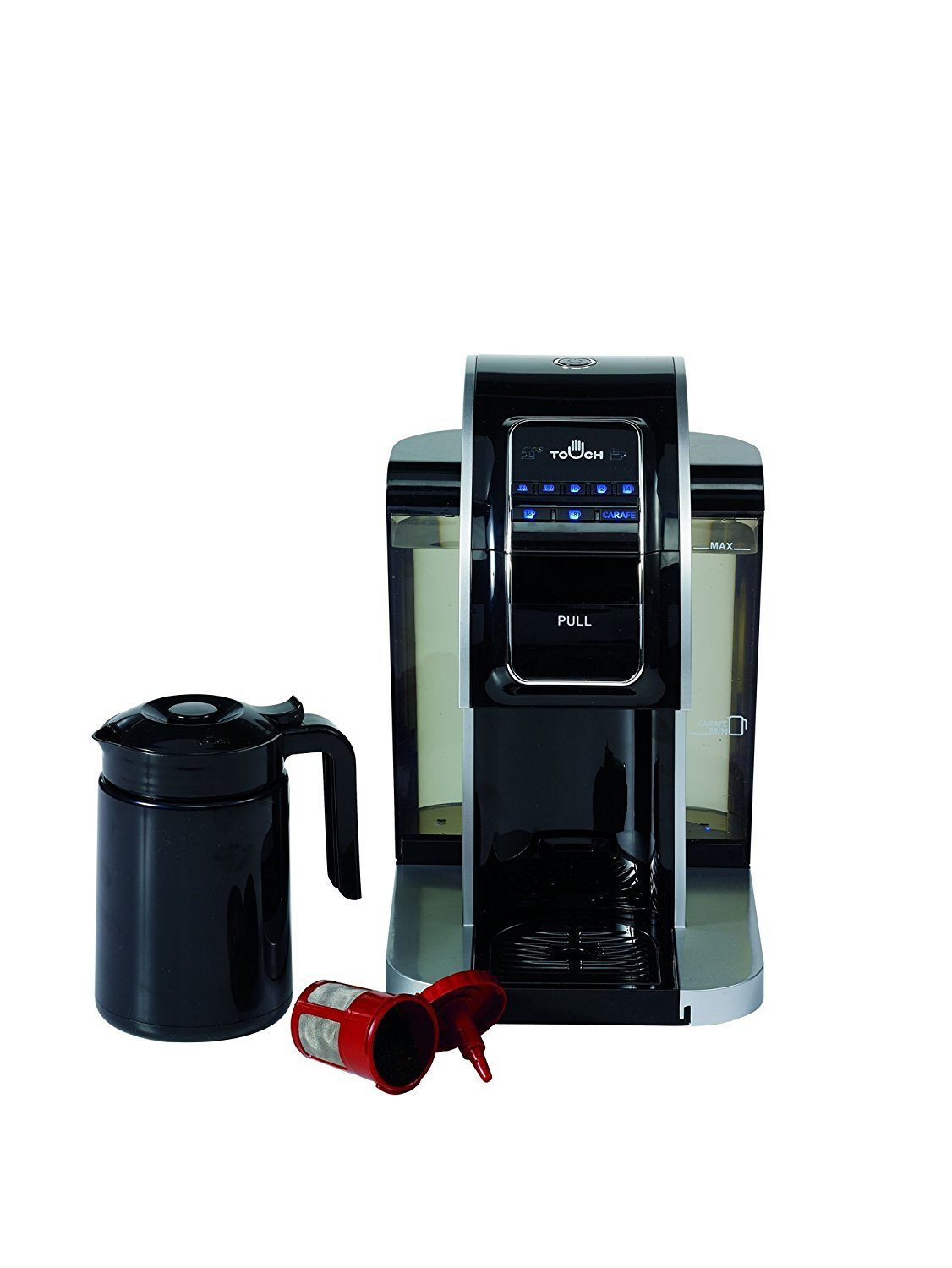 Touch Brewer T526S Brewing System For Single Cup Coffee by Touch Brewer: Amazon.es: Hogar