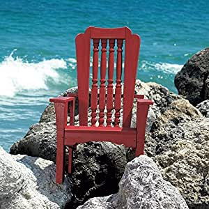 Uwharrie Chair Company Hatteras Collection Single Chair - Pine - B.T. Mauve