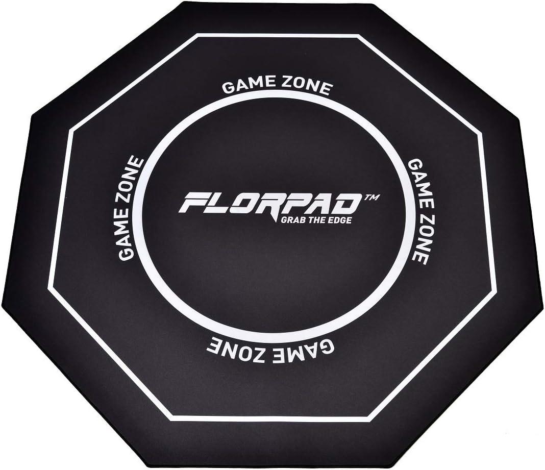 Boden Gaming Bodenmatte Woxter Stinger Floorpad Red Waschbar 100/% Mikrofaser Bodenmatte Bodenbelag Farbe Rot Wasserbest/ändig Durchmesser 120 cm