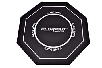 Florpad - Game Zone - Tapete Protector para el Piso y la Alfombra de la Silla
