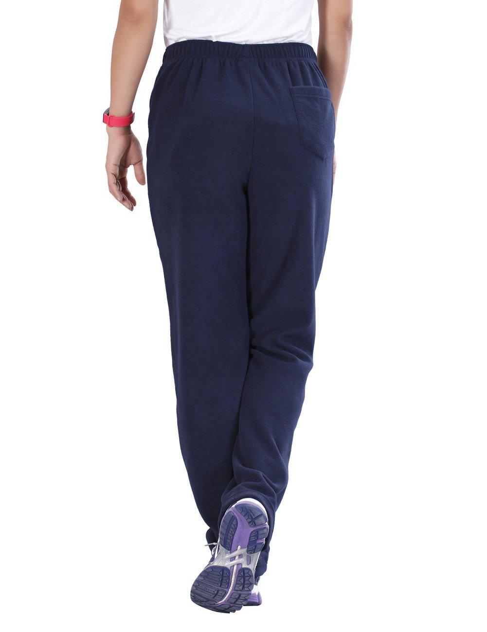 Nonwe Womens Outdoors Casual Fleece Hiking Sweat Pants