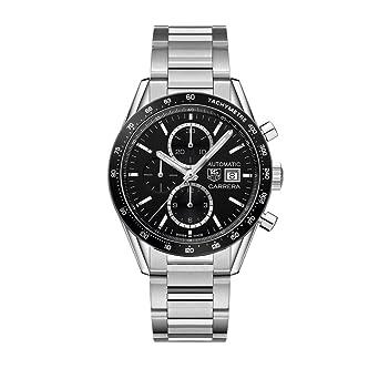 TAG HEUER CARRERA RELOJ DE HOMBRE AUTOMÁTICO 41MM CV201AL.BA0723: Amazon.es: Relojes