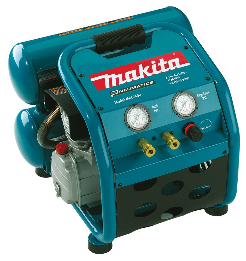 1.  Makita MAC2400 2.5 HP Air Compressor