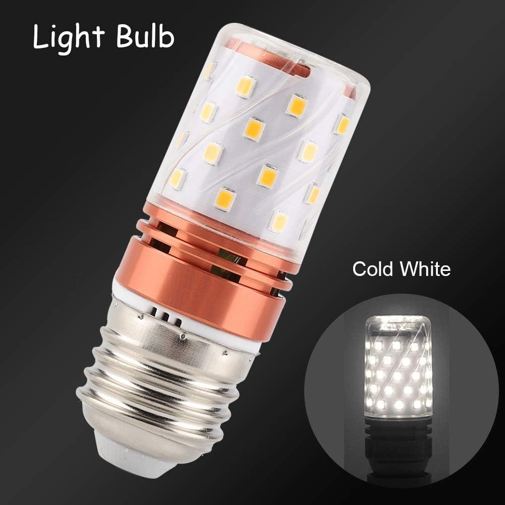 Warm White Double Bright Color Uniform Candle Warm White Cold Light Bulb Riuty 5Pcs E27 8W LED Corn lamp