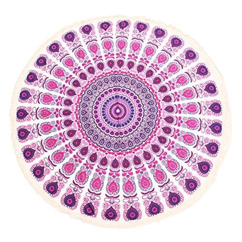King Do Way Roundie Indian Mandala Tapestry Soft