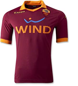 Kappa 2012-13 Roma Home Football Soccer T-Shirt Camiseta: Amazon.es: Deportes y aire libre