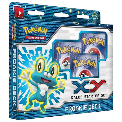 pokemon trading card game - xy kalos starter set - froakie deck - 1