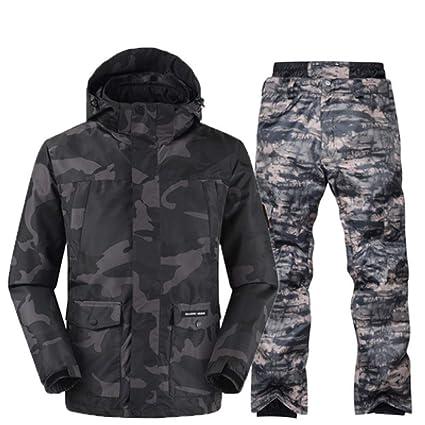 stylistisches Aussehen Größe 40 wähle authentisch KUNHAN Skibekleidung für Herren Skianzug Männer Winter ...