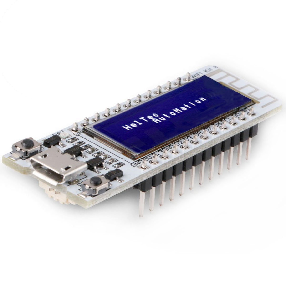 MakerFocus ESP8266 WiFi Development Board with 0.91 Inch ESP8266 OLED Display CP2012 Support Arduino IDE NodeMCU LUA