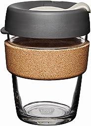 KeepCupTaza reutilizable de vidrio para café, Prensa, Multicolor, 12 oz Medium