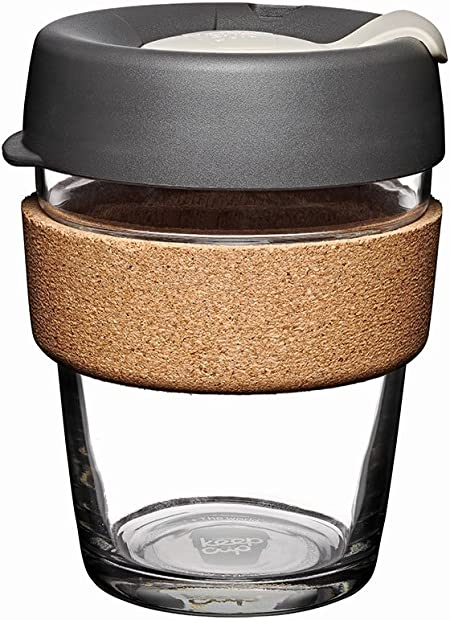 KeepCup Glass Cork Mug Brew Filter Medium
