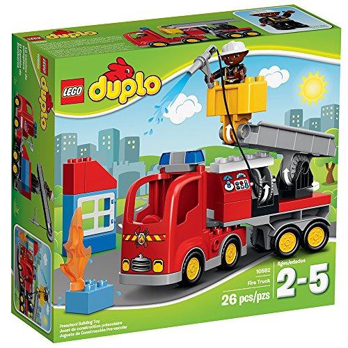 LEGO DUPLO Town 10592 Fire Truck Building Kit JungleDealsBlog.com