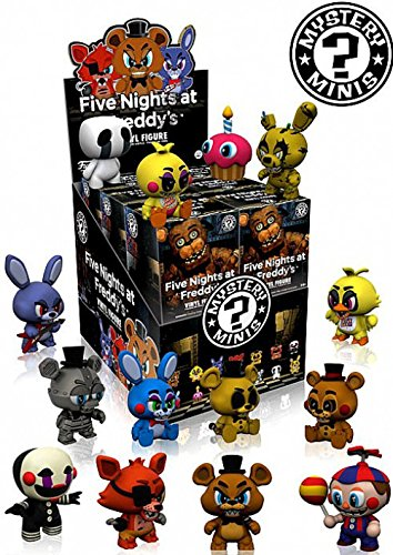 Five Nights at Freddy's Mystery Minis Series 1 Set of 12
