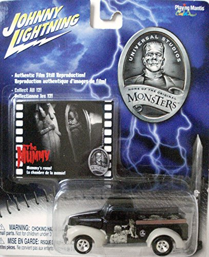Johnny Lightning Monsters Series Mummy 1940 Ford Pick - Johnny Lightning The Mummy