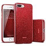 ESR iPhone 8 Plus Case, iPhone 7 Plus Case,Glitter Sparkle Bling Case [Three
