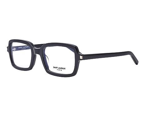 Amazon.com: Saint Laurent SL 278 BLACK 52/21/145 marco de ...