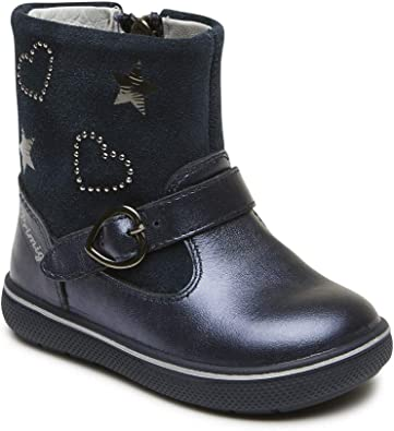 navy girls boots