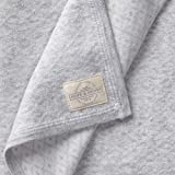 Hope & Henry Layette Ivory Baby Blanket Made with Organic Cotton One Size