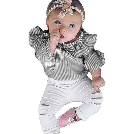 Luckycat NiñA Invierno Conjuntos Ropa Infantil BebéS ReciéN Nacidos ...