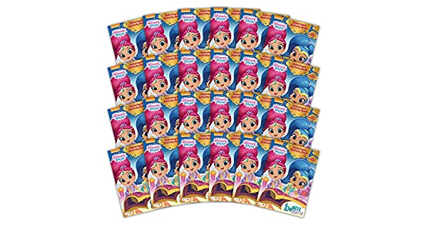 24-Count Bendon 42547-Amzb Shimmer and Shine 32-Page Activity Book with Stickers Bendon Inc