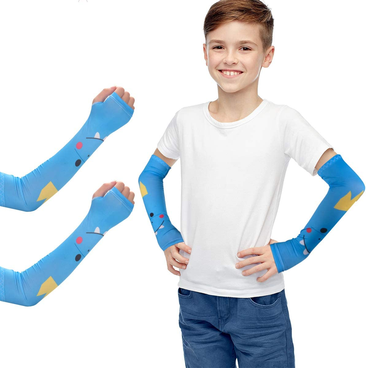 Arm Sleeves Cooling Sleeve UV Protection Sun Protection for Women Youth Children