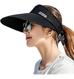 d6b76e153d3 HINDAWI Sun Hats for Women Sun Hat Wide Brim UV Protection Summer ...