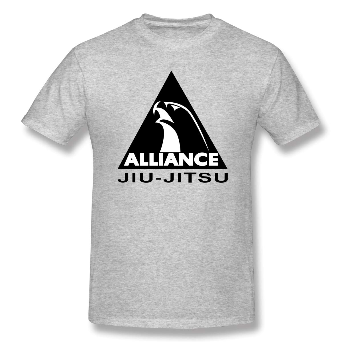 Spower Tee S Alliance Jiu Jitsu Casual T Shirts Gray With S Short Sleeve