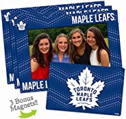 NHL Unisex-Adult NHL 4-inch by 6-inch Magnetic Frame and Bonus Magnet, 3-Pack