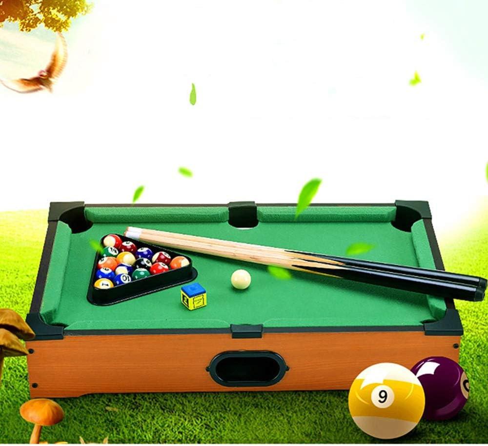Billar Snooker plegable Tablero de la mesa de juego de juguete piscina- billar de mesa: Señales y la cremallera piscina Familia que juega for adultos niños mini mesa de billar de escritorio en