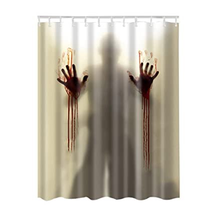 Image Unavailable Not Available For Color Adarl Waterproof Bath Curtains Bathroom Shower Curtain Set