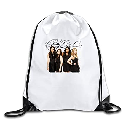 0325595076 Pretty Little Liars 100% Polyester Fiber Drawstring Backpack One Size