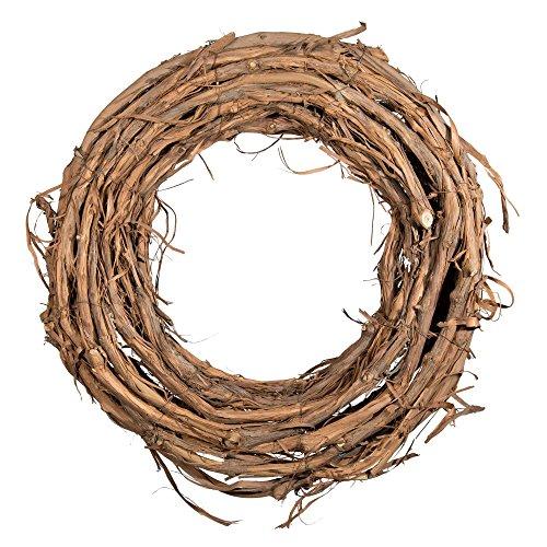 Shine Company 6603 Grapevine Wreath, 19-Inch, Brown, 2 -